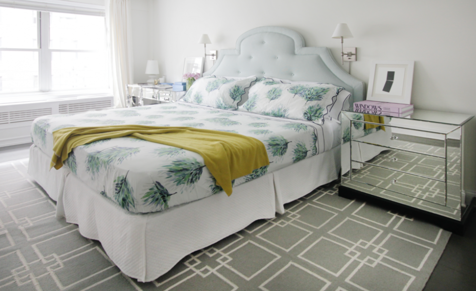 A bedroom makeover in New York