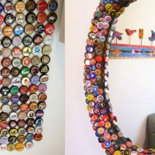Plastic bottle caps crafts ideas at home