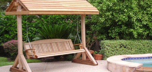 Building a garden swing seat in easy steps