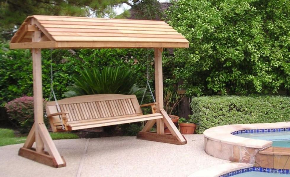 Building a garden swing seat in easy steps