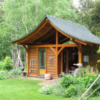 Building a garden shed in simple steps