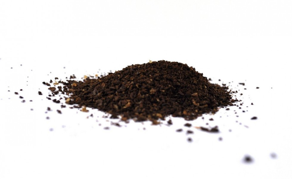 Coffee grounds reuse