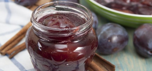 Plum jam without sugar home made