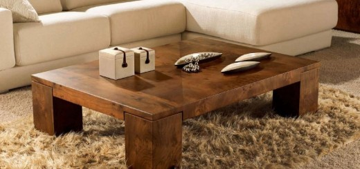 How to make a wood table at home