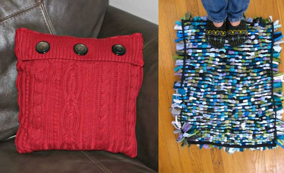How to reuse old clothes at home