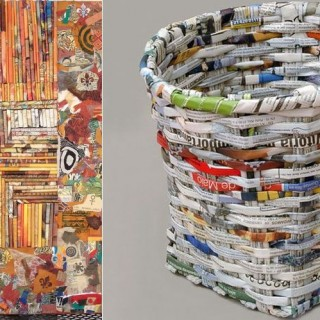 How to reuse magazines at home