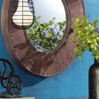 Industrial chic style at home