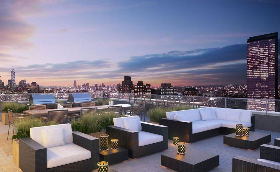 Rooftop terrace designs very beautiful