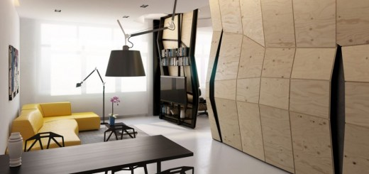 Transforming a studio apartment in easy steps