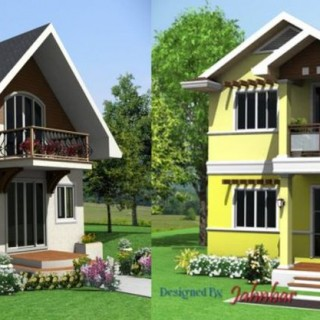 A 1.5 story vs a 2 story home in details