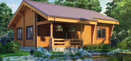 How to build a wooden house step by step and quickly