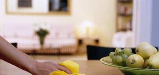 Five easy cleaning tips at home