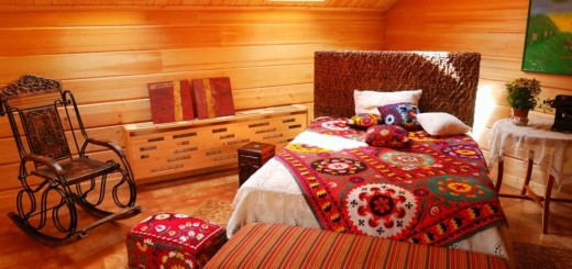 Rustic style attic design ideas