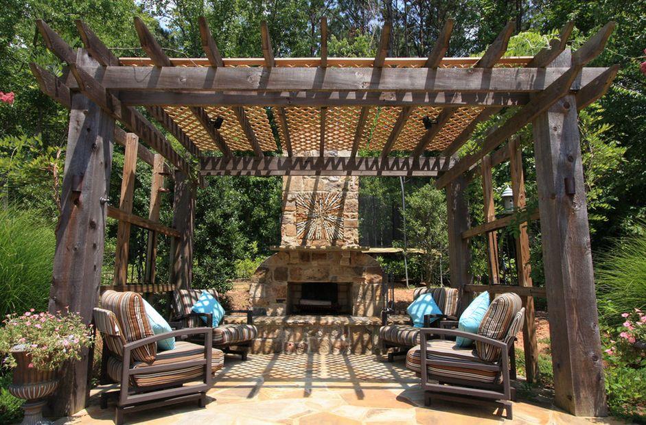 Wooden Pergola Design Ideas Under Garden S Roof