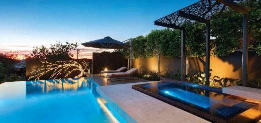 Metallic pergola design ideas in the garden