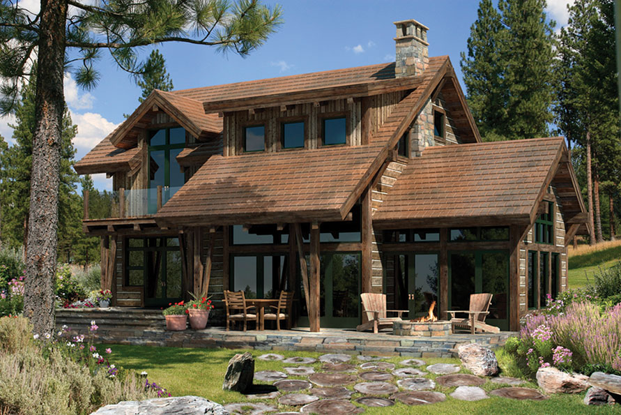 Timberframe house plans - elegance of simple designs