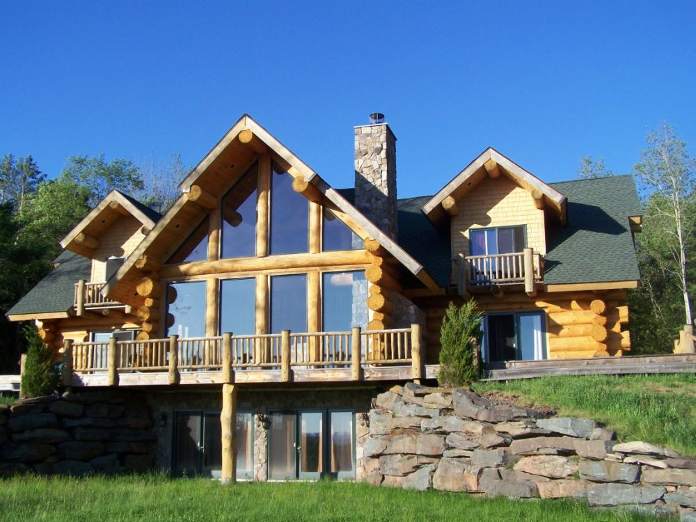Wood And Stone House Plans A Charming
