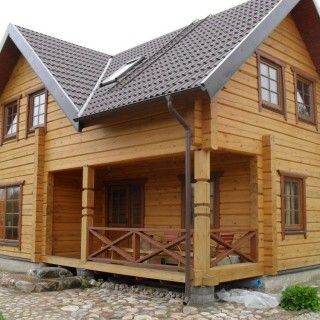 I want to build a wood house efficiently