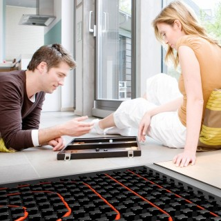 Radiant floor heating – pros and cons at home