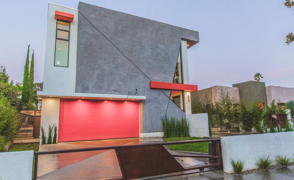 The angular house in Hollywood
