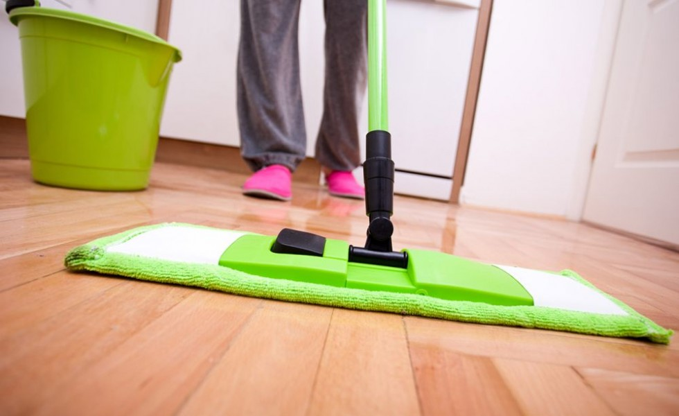 Five tips for quick cleaning at home
