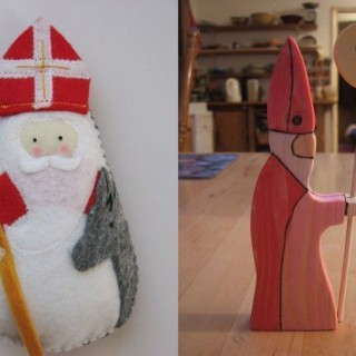 Saint Nicholas day decorations at home