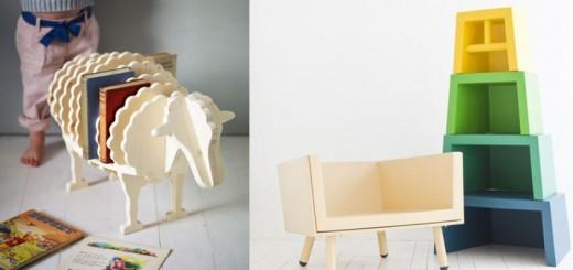 Smart kids furniture at home