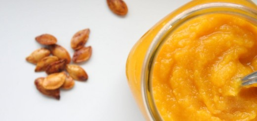 Homemade beauty treatments with pumpkin puree