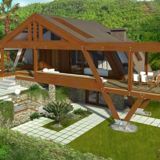 Modern wood house plans for all