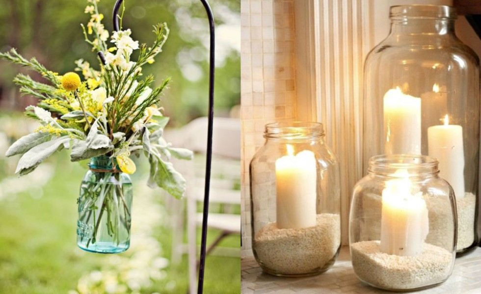 What to do with a mason jar at home