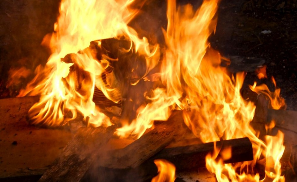 Homemade wood burning central heating which are efficient