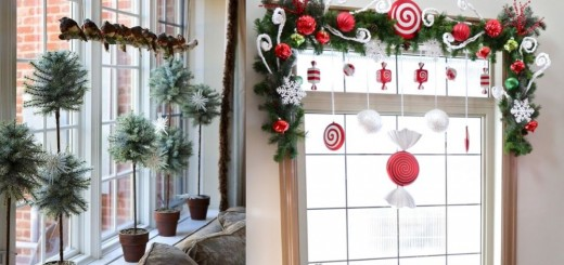 Christmas window design ideas for home