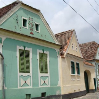 Transylvanian style houses are beautiful