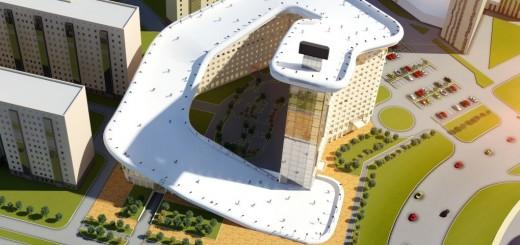 The Slalom House in Astana