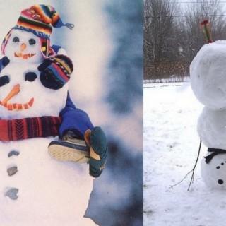 Most creative snowmen in the world
