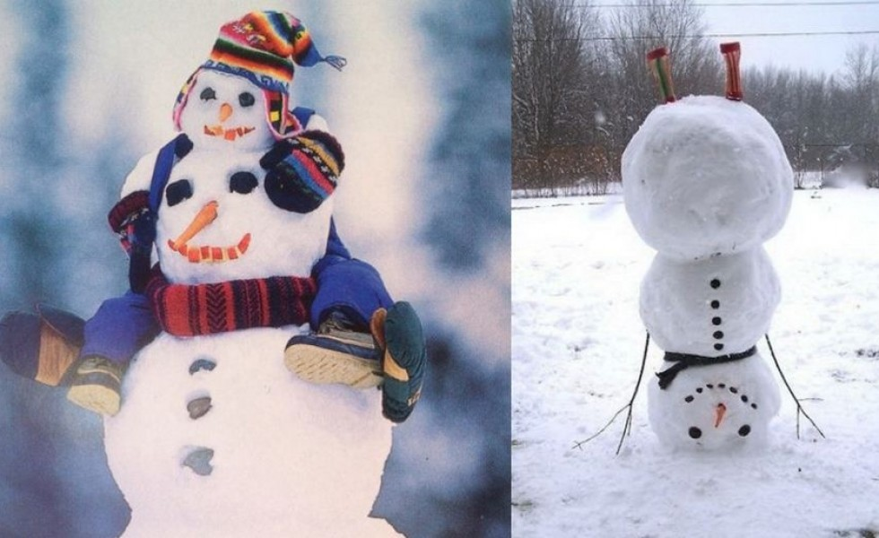 Most Creative Snowmen - 21 Funny Ideas