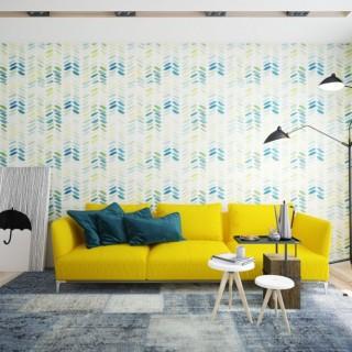 Yellow accents in interior design ideas