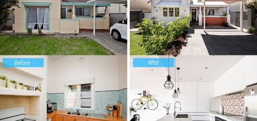 Before and after in Australia