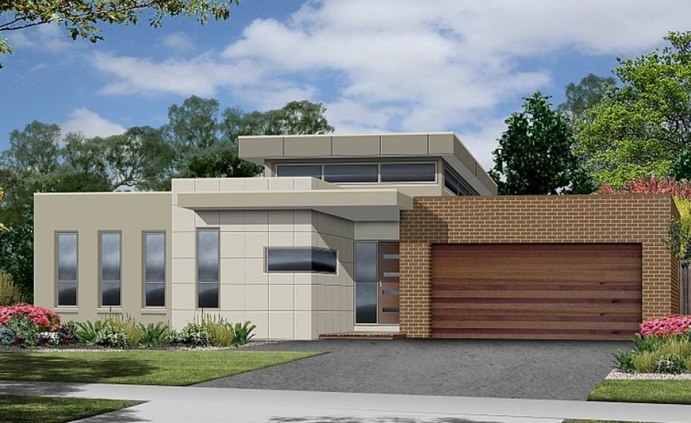 Single Level Modern House Plans Open Spaces Houz Buzz