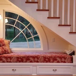 Under stairs storage ideas are efficient