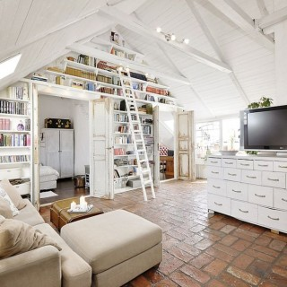 Setting up an attic apartment is a great idea