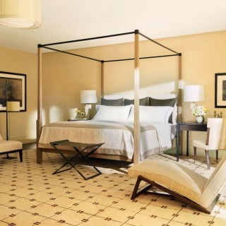 Bed placement rules in a room