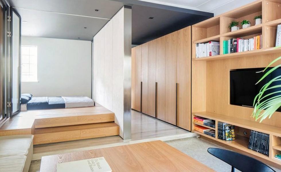 Small apartments made spacious