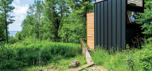 The off-grid cabin in the woods