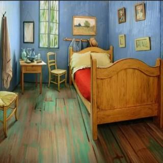 Van Gogh's bedroom in Chicago
