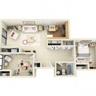 3 room apartment layout ideas for all