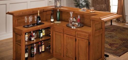 Stylish home bar ideas for all