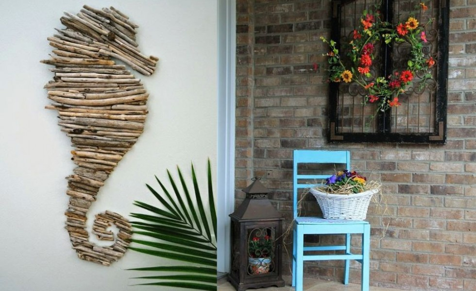 Outdoor Wall Decorations 15 Ideas To Personalize Your