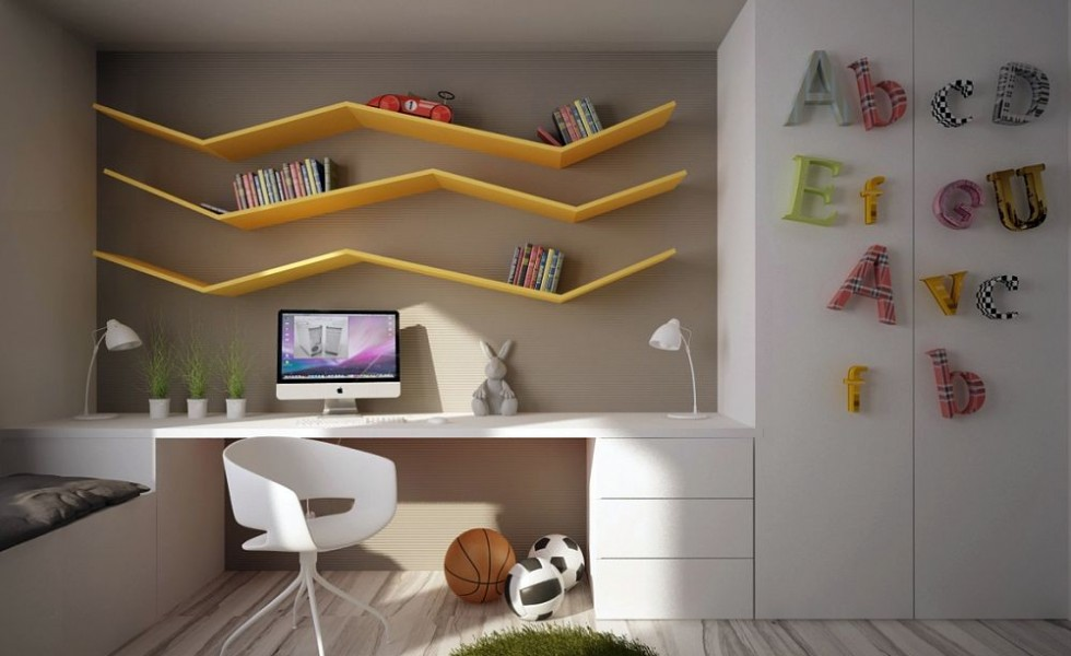 Kid and teen desks for home