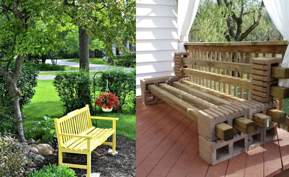 Bon Garden Wood Benches Ideas For All